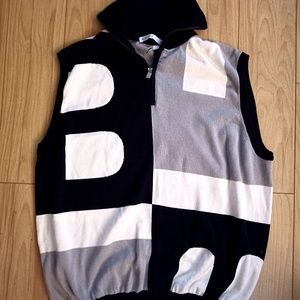 Bally zip up Vest,